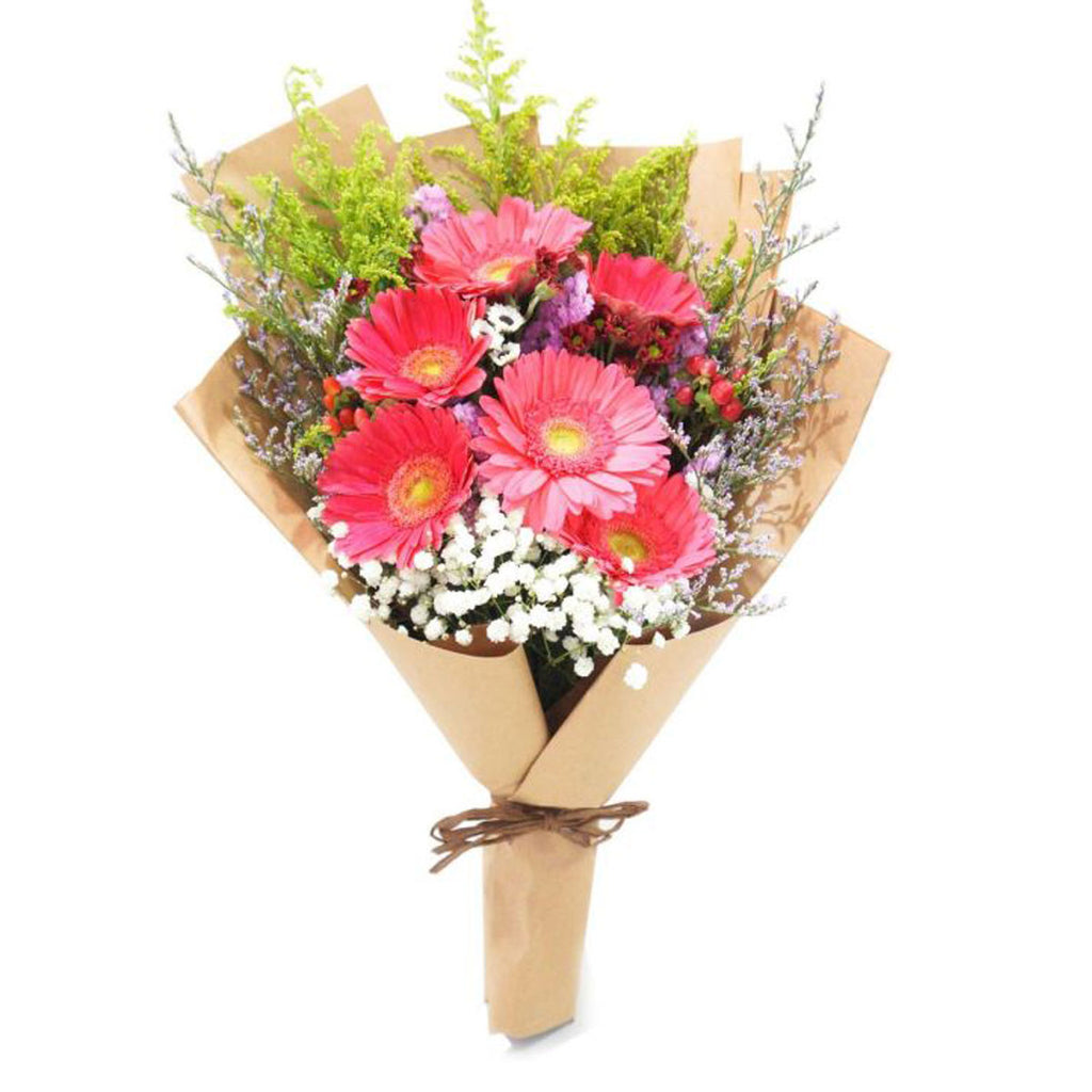 Daisy Delight Bouquet - DavaoShop - Send flowers, gifts to your loved ones in Davao City - the 1st Online Shop in Davao Since 2003