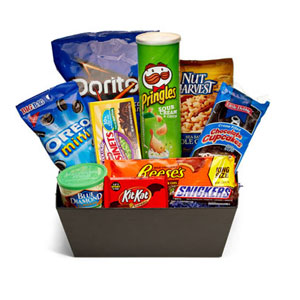 Davashop's Ultimate Junkfood Basket