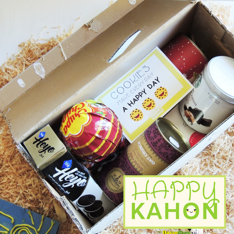 The Sweet Tooth Happy Kahon Gift Box - DavaoShop - Send flowers, gifts to your loved ones in Davao City - the 1st Online Shop in Davao Since 2003