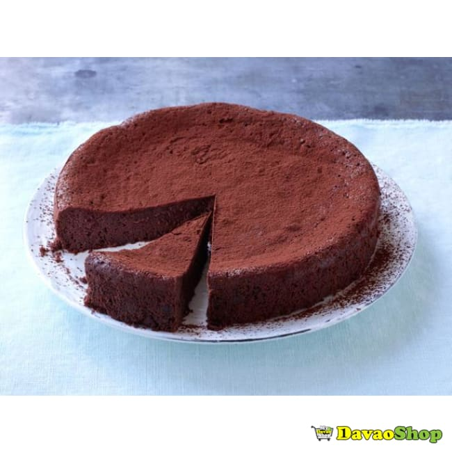 Maida's Crowd-Favorite Gluten Free Flourless Dark Chocolate Cake - DavaoShop - Send flowers, gifts to your loved ones in Davao City - the 1st Online Shop in Davao Since 2003