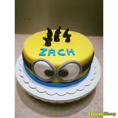 One Layer Custom Marshmallow Fondant Cakes by DavaoShop - DavaoShop - The 1st Online Shop in Davao Since 2003