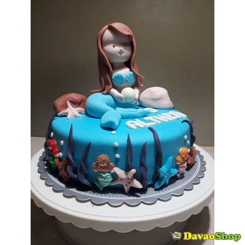One Layer Custom Marshmallow Fondant Cakes By Davaoshop - Custom Cakes | Davaoshop - The 1St Online Shop In Davao Since 2003
