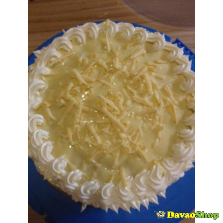 Orange Yema Cream Cake - DavaoShop - Send flowers, gifts to your loved ones in Davao City - the 1st Online Shop in Davao Since 2003