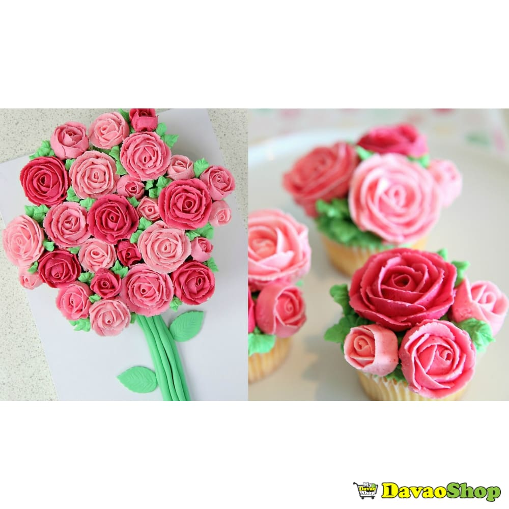 Rose Cupcakes - Specialty Cakes | Davaoshop - The 1St Online Shop In Davao Since 2003