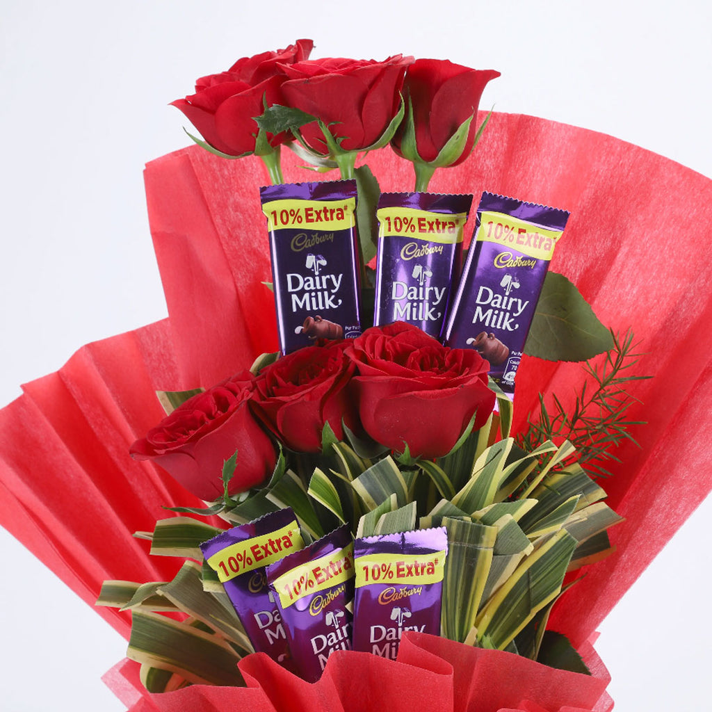 Chocolate Rose Bouquet - DavaoShop - Send flowers, gifts to your loved ones in Davao City - the 1st Online Shop in Davao Since 2003