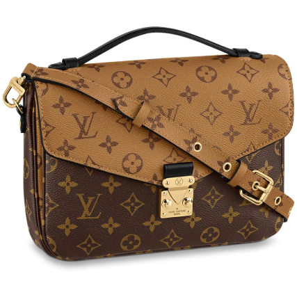 Louis Vuitton Pochette Metis Monogram Reverse Canvas