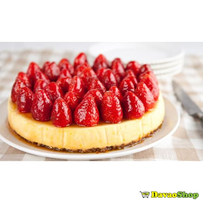 Strawberry Cheese Cake - DavaoShop - Send flowers, gifts to your loved ones in Davao City - the 1st Online Shop in Davao Since 2003