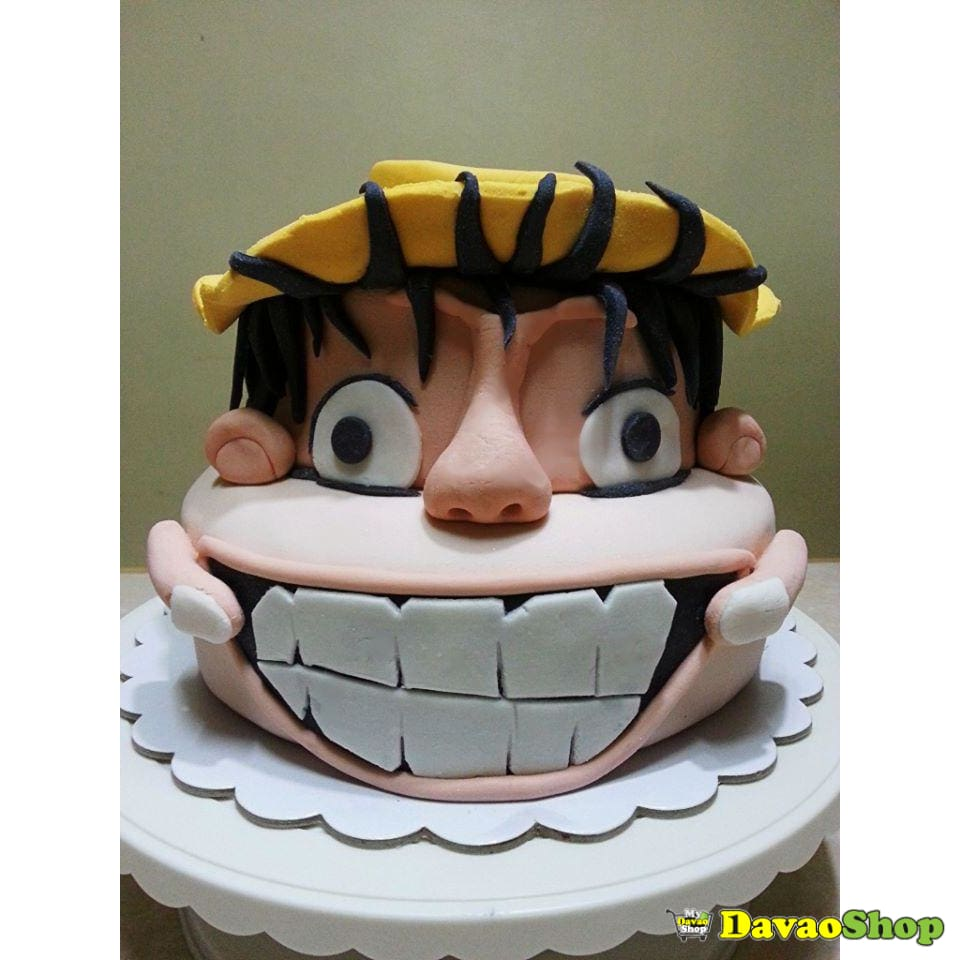 Two Layers Custom Marshmallow Fondant Cakes By Davaoshop - Custom Cakes | Davaoshop - The 1St Online Shop In Davao Since 2003