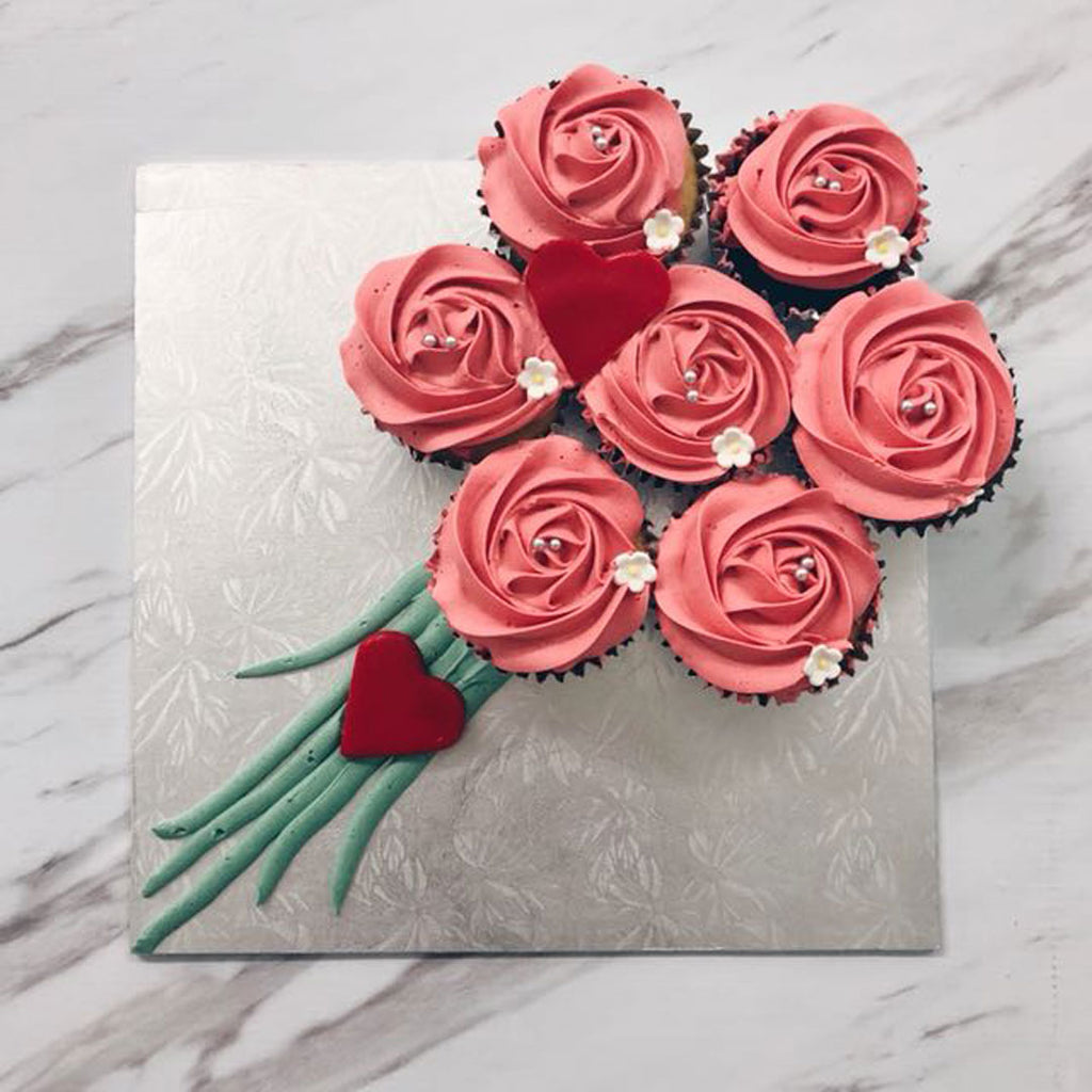 For Any Occasion Rose Cupcakes - DavaoShop - Send flowers, gifts to your loved ones in Davao City - the 1st Online Shop in Davao Since 2003