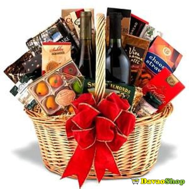 Wine And Gourmet Collection - Gift Baskets | Davaoshop - The 1St Online Shop In Davao Since 2003