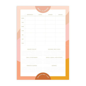 A4 Meal Planner Magnet Notepad | Muse