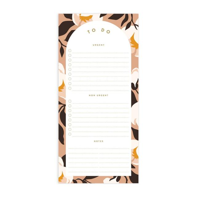Magnolias DL To Do Magnet Notepad