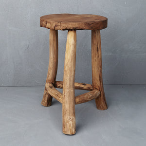 Lale Rustic Milking Stool
