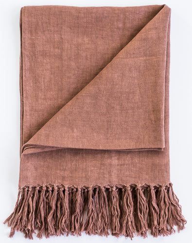 Luca Throw | Desert Rose