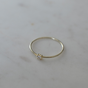 Mini Rock Ring Clear