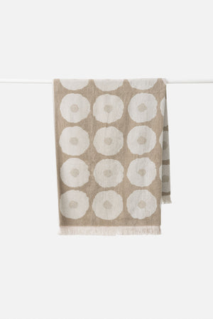 Etta Organic Cotton Towel Range | Matcha/Bone