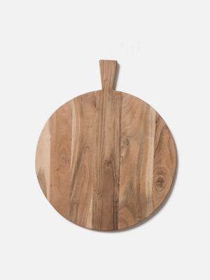 Acacia Round Chopping Board
