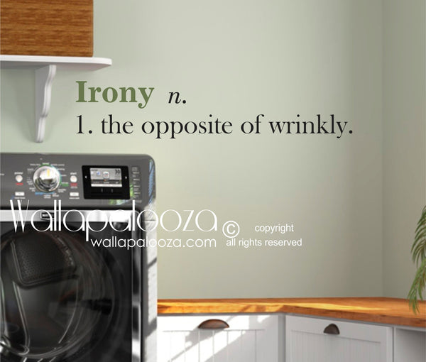 Laundry Wall Decals