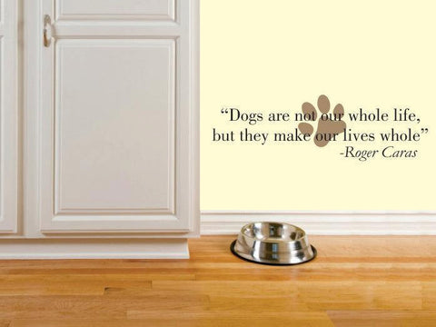 Dog wall decal - Pet wall decal - Dog wall stickers - Pet wall decor