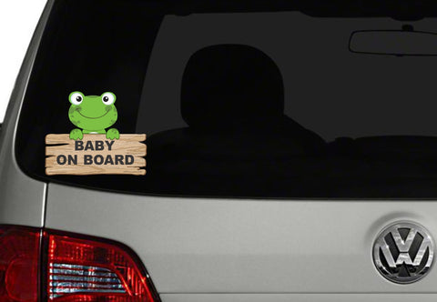Baby On Board Car Decal - Car decal - Baby on Board