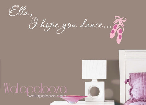 Ballet Wall Decal - Dance Wall Art - Dancing Wall Decor