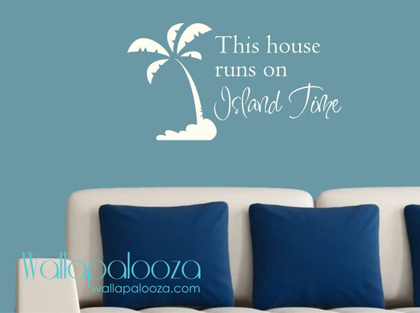 Beach House Wall Decal - Cottage Wall Decal - Beach Wall decal