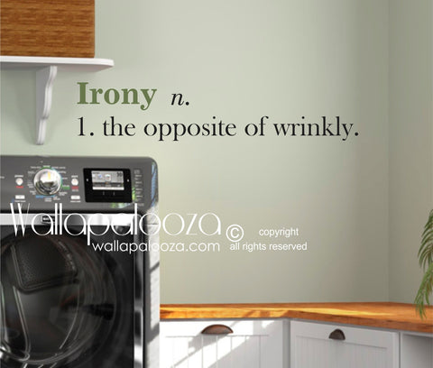 Laundry Room wall decal - Laundry Wall Art - Laundry Wall Quote