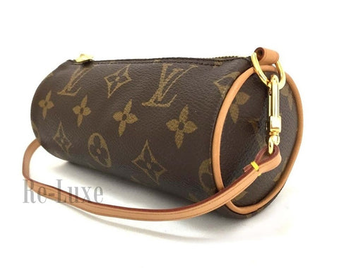 Preloved Authentic Louis Vuitton Mini Papillon Barrel Pouchette