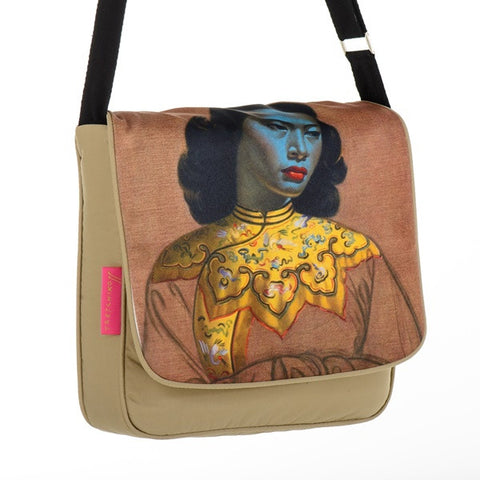 "Tretchikoff : Messenger Bag ""Chinese Girl"""