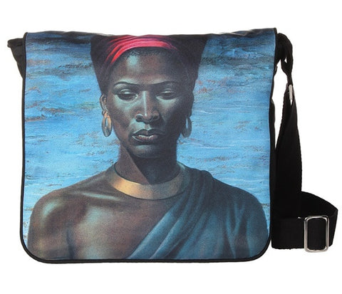 "Tretchikoff : Messenger Bag ""Zulu Girl"""