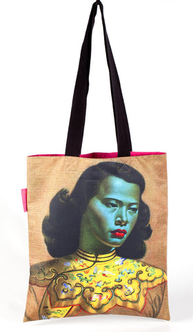 "Tretchikoff : Tote Bag  ""Chinese Girl"""