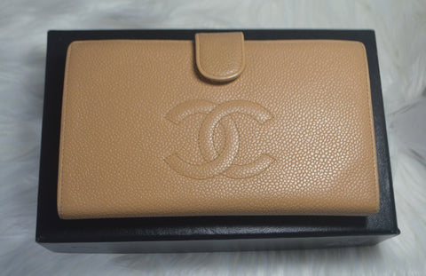 Preloved Authentic CHANEL Timeless Wallet