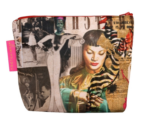 "Tretchikoff : Cosmetic bag ""Tretchikoff Collage"""