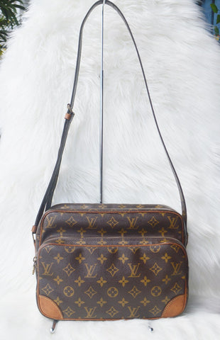 Preloved Louis Vuitton Monogram Nile 28 Crossbody