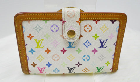 Preloved Authentic Louis Vuitton Monogram Multicolore Porte-monnaie Billets Viennois Wallet