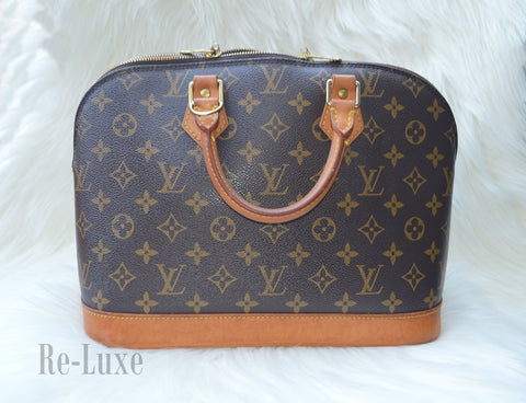 Preloved Authentic Louis Vuitton Monogram Alma