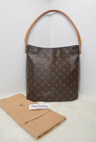 Preloved Authentic Vintage Louis Vuitton Monogram Canvas Looping GM bag