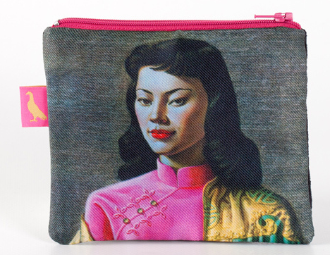 "Tretchikoff : Coin purse ""Miss Wong"""