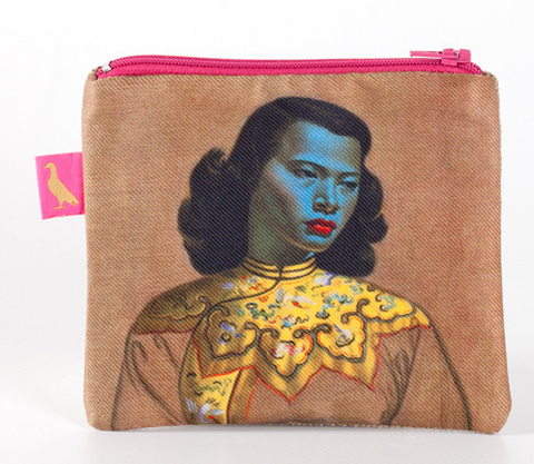 "Tretchikoff : Coin purse ""Chinese Girl"""