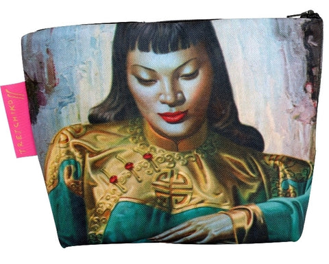 "Tretchikoff : Cosmetic bag ""Lady of the Orient"""