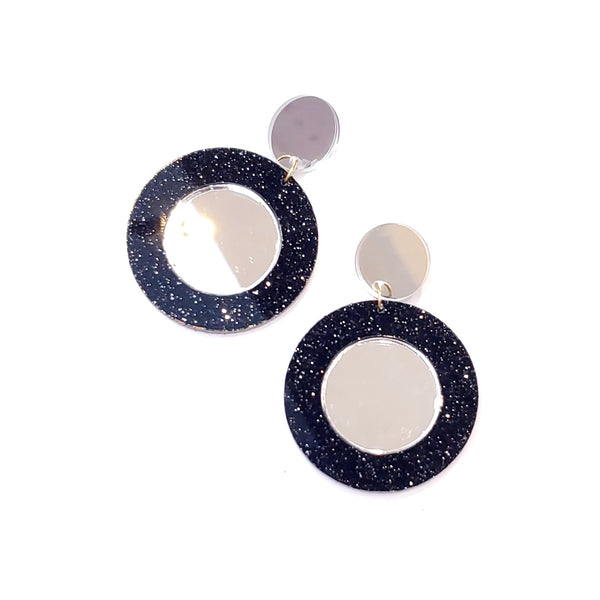 M3 by MÓNICA- MIRROR EARRINGS (Color variations available)