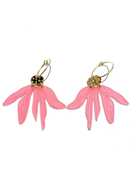 FORASTERA- Flores  N. 02 Hoop Earrings (more colors available)