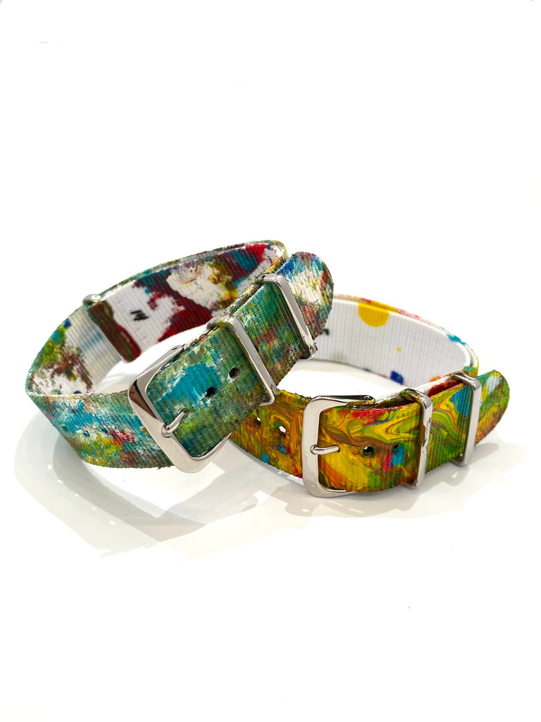 GEO- Madre Tierra Collection-  Handpainted Straps