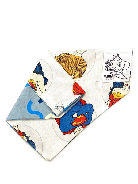MAMBO BY SAJORÍ- Reversible Dog Bandana- XSmall