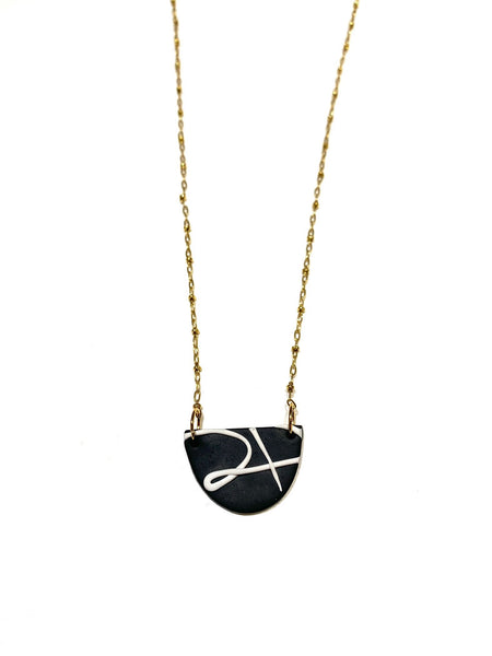 COCOLEÉ- Abstract Design Necklace