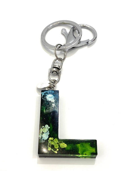EMU.ART - Alphabet Resin Keychain - L