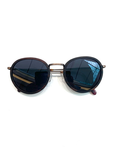 HERNY'S WOOD - Sunglasses - Humami- Ebony/Ebony