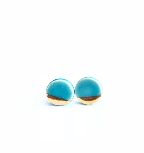 ITSARI- 22k DETAIL STUDS- CIRCLES (more colors available)