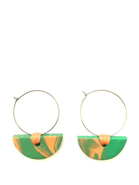 COCOLEE- HOOP EARRINGS