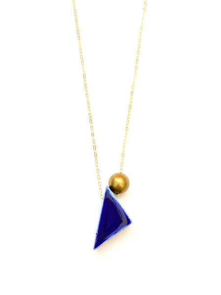 ITSARI - Tilted Triangle Short Necklace